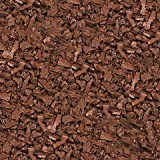 GROUNDSMART LTGCRMN1TS Rubber Mulch, Large, Cedar Red