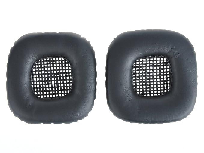 WEWOM 2 Almohadillas de Alta Calidad de Recambio para Auriculares Marshall Major II, Color: Negro: Amazon.es: Electrónica