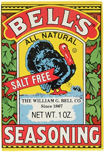 - Bells Bell'S Poultry Seasoning, 1-Ounce Boxes (Pack of 6)
