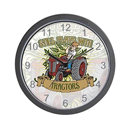 Amazon.com: CafePress - Still Plays with Red Tractors Wall ...