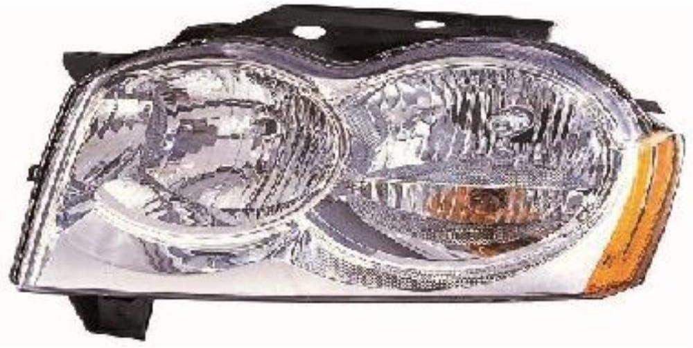 Halogen Scheinwerfer Set links /& rechts Hauptscheinwerfer Frontscheinwerfer ohne Steckdose f/ür Model Grand Cherokee III WH WK