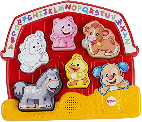 (Fisher-Price Laugh & Learn Farm Animal Puzzle)