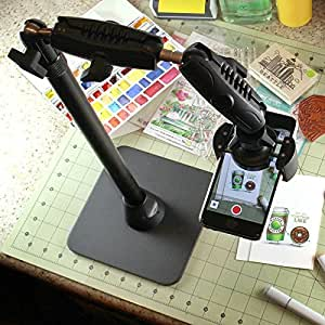 Arkon Kitchen Desk Table Stand for Live Streaming