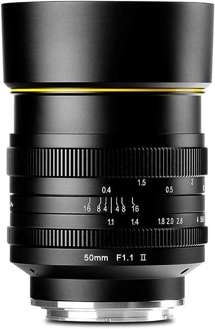 Kamlan 50 Mm F1 1ii Objektiv Aps C Große Blende Kamera