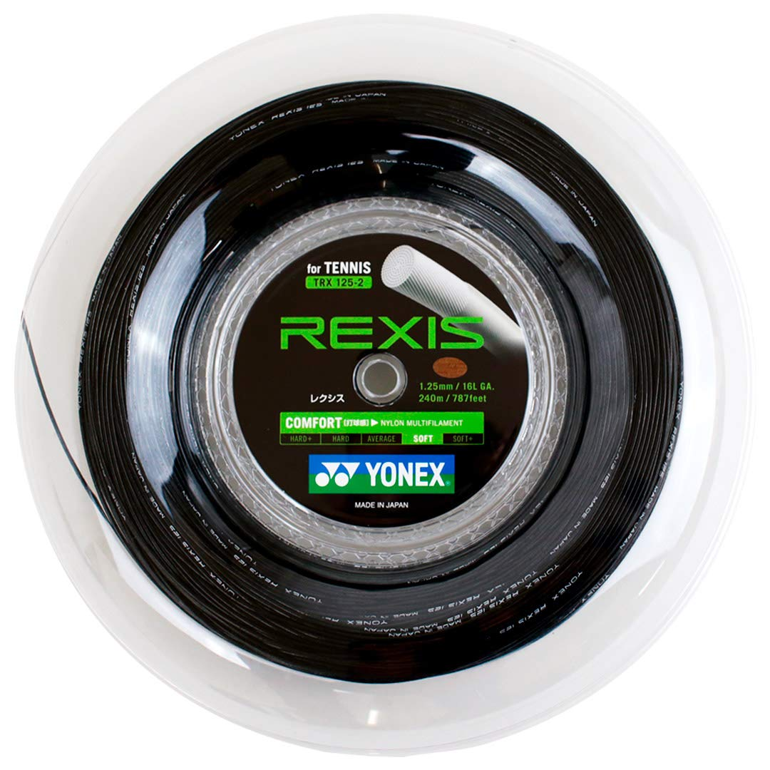 ヨネックス(YONEX) テニスガット ロール レクシス(REXIS) B07QLKXTPT 125 ブラック TRX125-2 0 テニスガット 0 0 B07QLKXTPT, ビーズショップオクトパスガーデン:bc41b3ba --- rigg.is