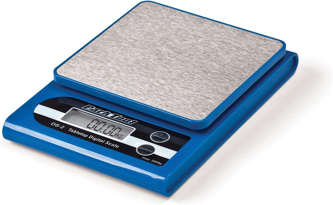 weigh your carbon or steel bike with ease Park Tool DS-1 Digital Bicycle Scale