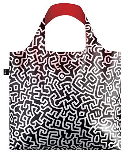 Bag Multicolour Museum Keith LOQI 20 Sac de 50 liters Plage cm Haring Multicolore Untitled nqfWTA