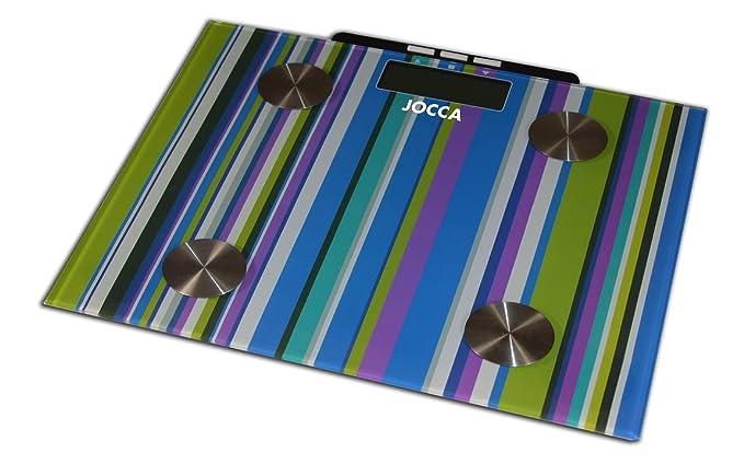 Jocca 7158 - Bascula para medir la grasa, multicolor: Amazon.es: Salud y cuidado personal