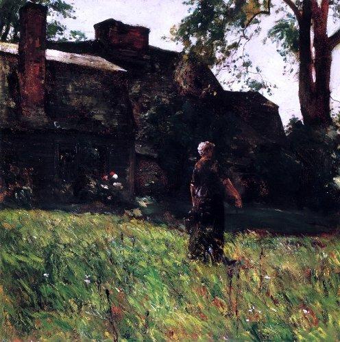 Frederick Childe Hassam The Old Fairbanks House, Dedham, Massachusetts - 20.1