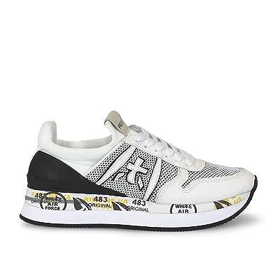 PREMIATA Women s Trainers white Bianco white Size  7  Amazon.co.uk  Shoes    Bags 5869c5ad8
