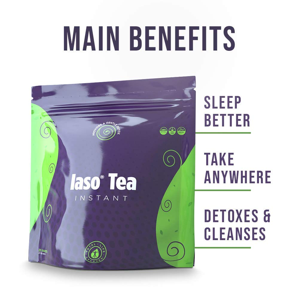 TLC Total Life Changes IASO Natural Detox Instant Herbal Tea (50 Sachets) Packaging May Vary Between Old & New in 201 by Total Life Changes (Image #7)