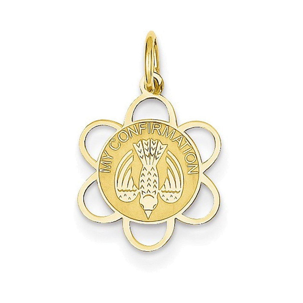 Jewelry Adviser Charms 14k My Confirmation Charm