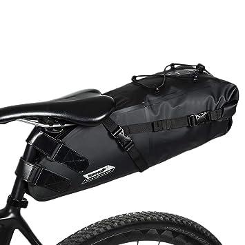 Asvert Bolsa de Sillín para Bicicleta con Herramientas ...