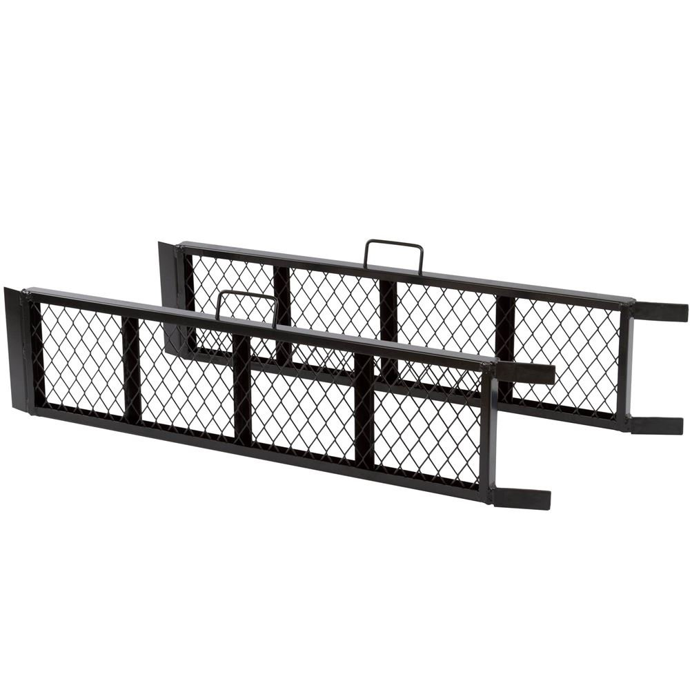 Black Widow ST-4811-1600-M-V2 Steel ATV Trailer Ramp 48.5 Black, Pair