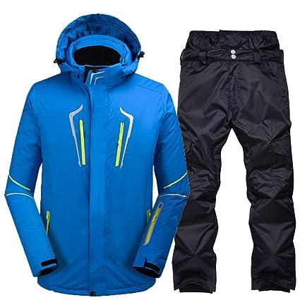Amazon.com: Z&X - Chaqueta de esquí para hombre individual y ...