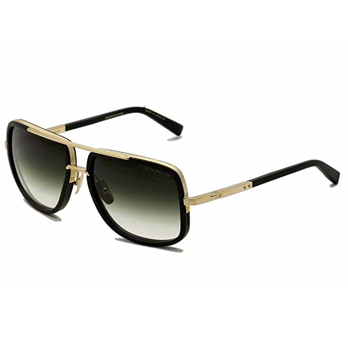 0775724c73a DITA Mach One 1 Sunglasses DRX 2030 Matte Black Antique 12K Gold   G-15 59  mm  Amazon.ca  Clothing   Accessories