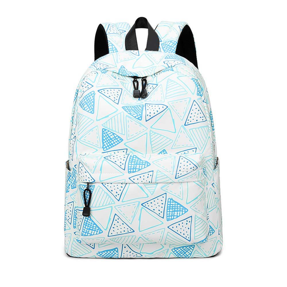 joymoze Freizeit Rucksack für Mädchen Teenager Schule Rucksack  (Triangle)