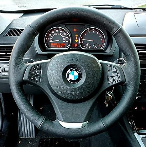 RedlineGoods BMW X3 E83 2003-10 cubierta de volante 3v2: Amazon.es: Coche y moto