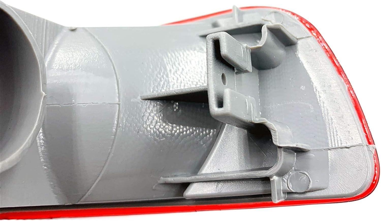 YZHUA Parachoques Trasero Fog Light AUTI-Fog L/ÁMPARA Ajuste para Nissan Qashqai J10 2007 2009 2010 2011 2011 2012 2012 2012 2013 2014 2015 Coche Trasero Cola de parachoque