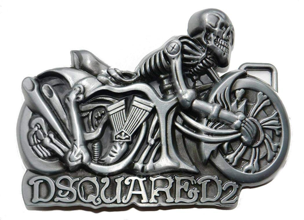 Biker Skeleton Motorcycle Choppers belt buckle Choppershop
