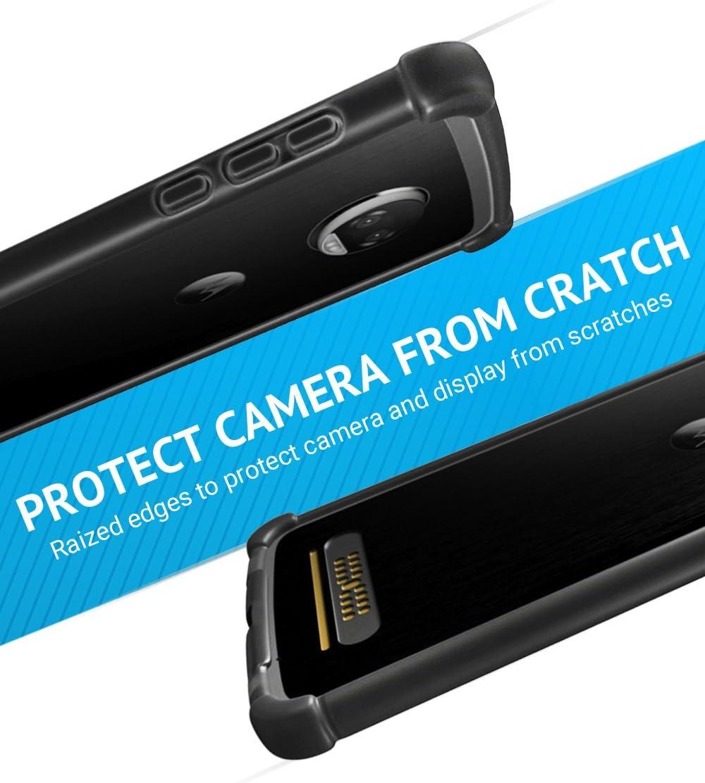 CaseWe - Funda para Motorola Moto Z2 Force Bumper Case Protector ...