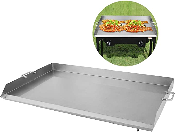 "16/""x18/""//32/""x17/""//36/""x22/"" Stainless Steel Griddle Flat Top Grill  BBQ Heavy duty"