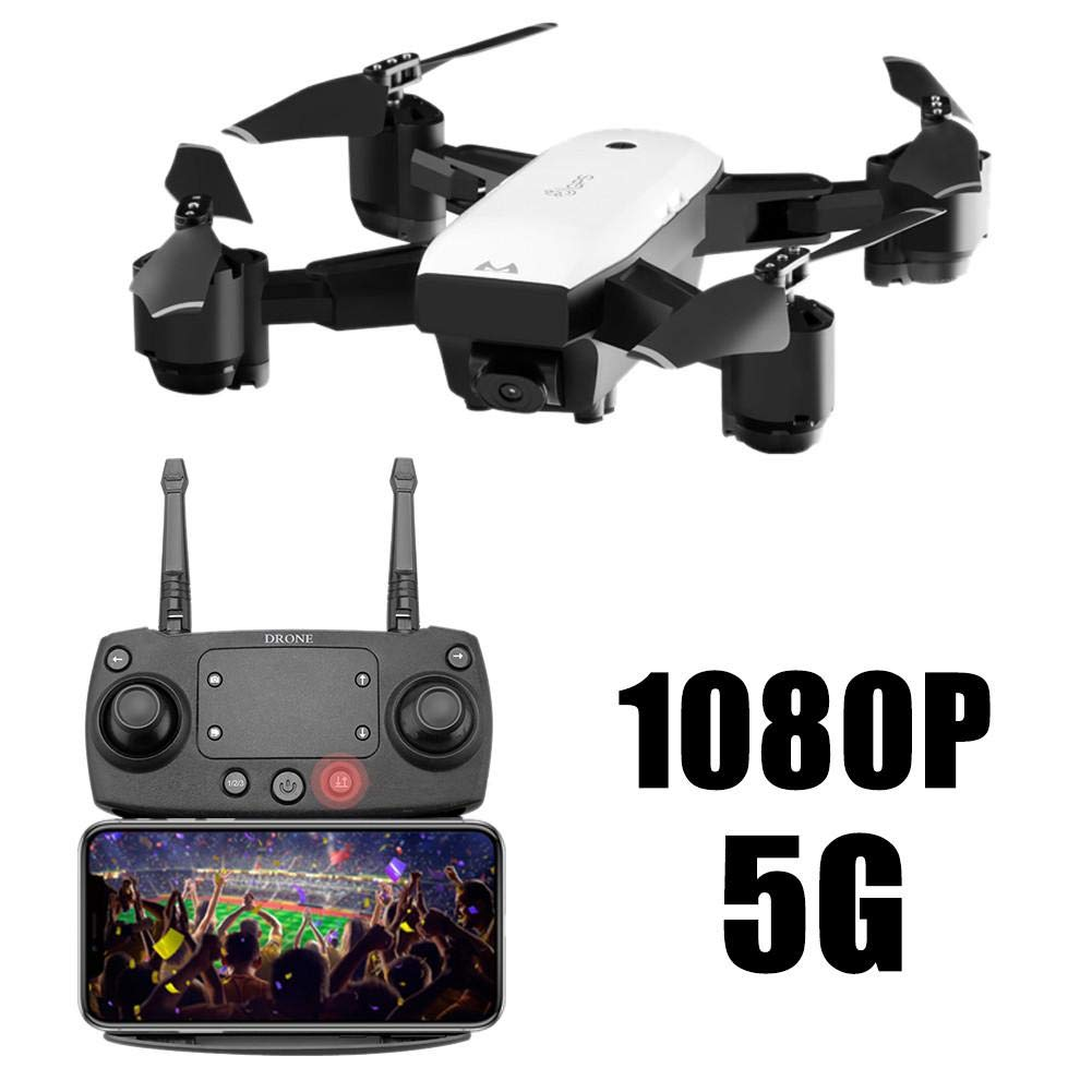 SMRC S20 Quadcopter Drohne mit HD 1080 P WIFI FPV Weitwinkel Kamera RC Hubschrauber Echtzeit Kamera Drohne Geschenke für Kinder für Anfänger