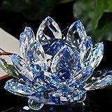 Amazon.com: Vela de cristal de 7 colores con forma de flor ...