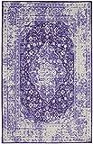 Mohawk Home Prismatic Caspar Purple Distressed Precision Printed Area Rug, 8′ x 10′, Purple Review