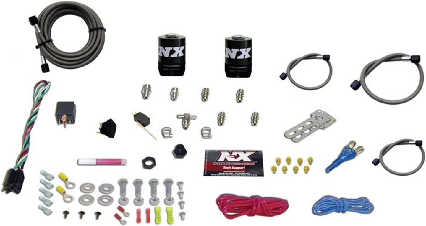 Nitrous Express 20923-00 35-75 HP Sport Compact EFI Single Nozzle System