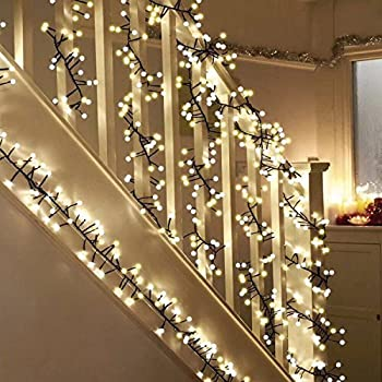 Globe decorative string lights led fairy - Indoor string light decoration ideas ...
