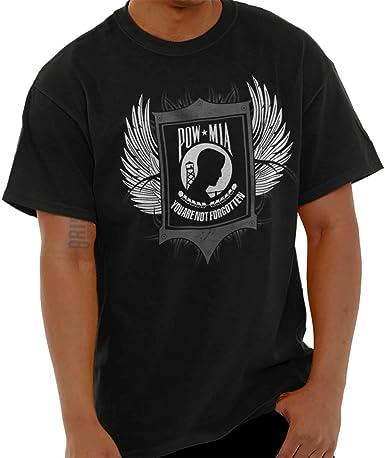 POW MIA You Are Not Forgotten T-Shirt Military Veteran USA Tee Shirt