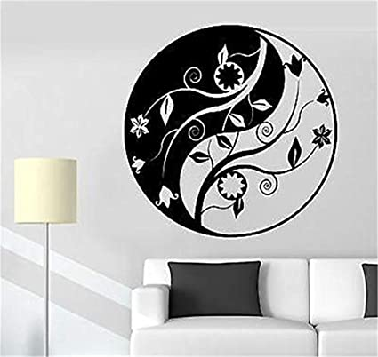 Amazoncom Quote Funny Wallpaper Removable Buddha Yin Yang