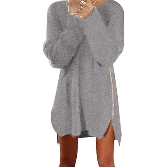 9e4619f1c14b3 ワンピース レディース 秋 Plojuxi きれいめ ショート 長袖 大きいサイズ セーター ドレス パーティードレス タイト フォーマル