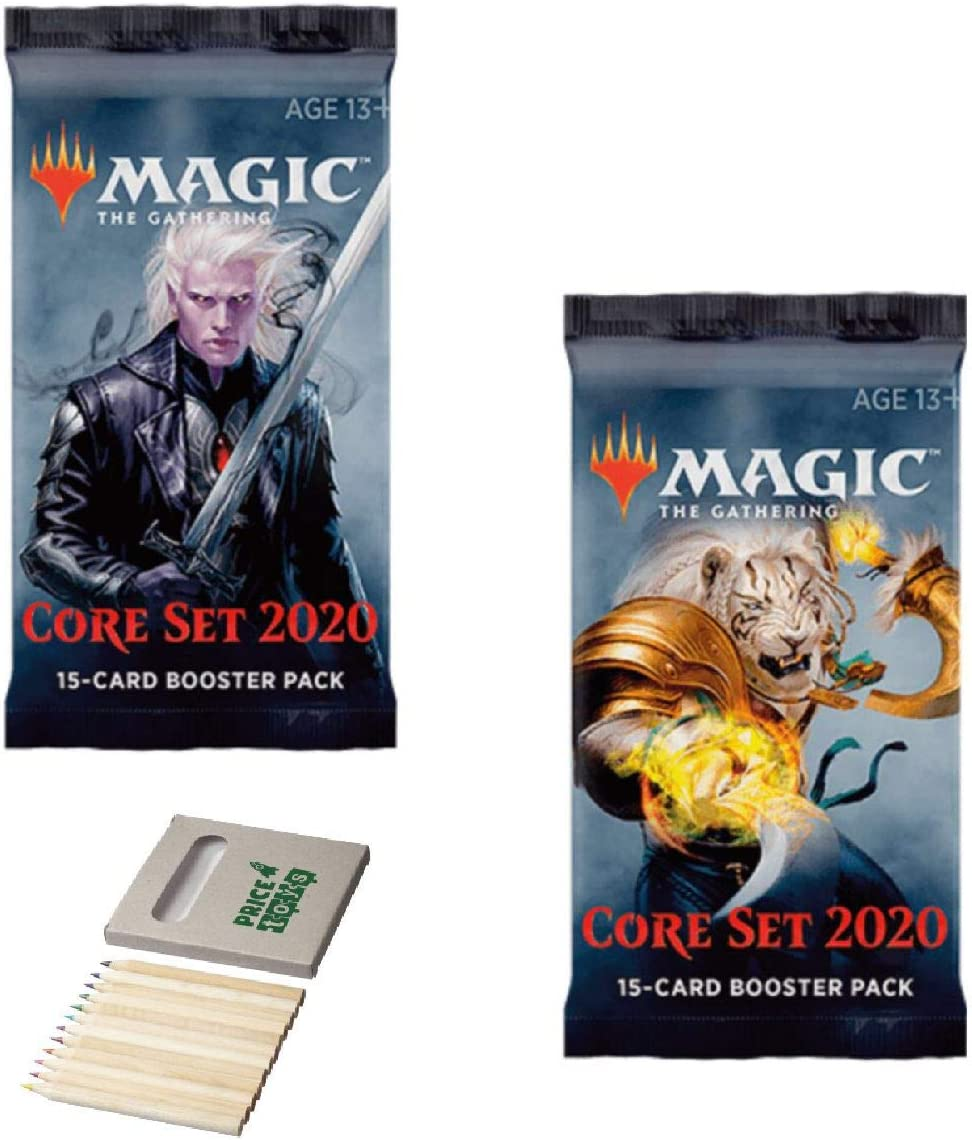Price Toys Magic The Gathering gremios de Rávnica Booster Paquete (Multipack) (2 Pack Core 2020)