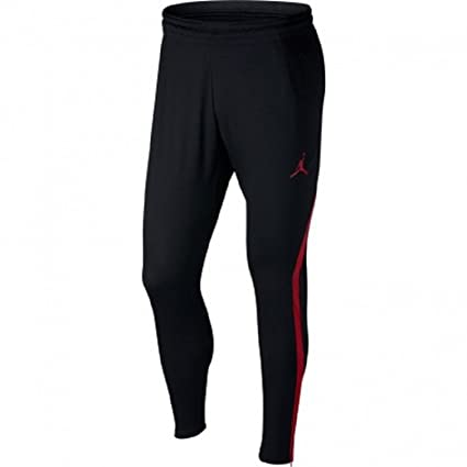 fbd7b0b66ab5ae Image Unavailable. Image not available for. Color  Nike Mens Jordan 23  Alpha Dry-Fit Athletic Fit Training Pants Black Gym Red