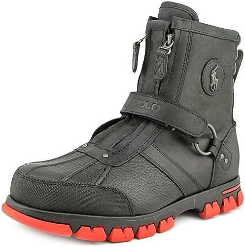 Polo Ralph Lauren Conquest HI III Hombre Piel Deportivas Zapatos ...