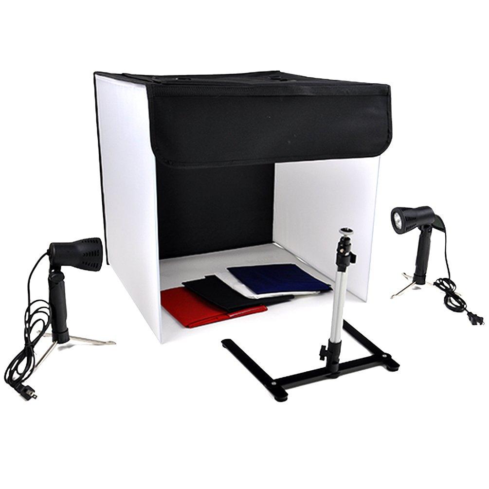 Photo Studio Photography Light Tent Backdrop Kit Cube Lighting In A Box 20'' 50cm