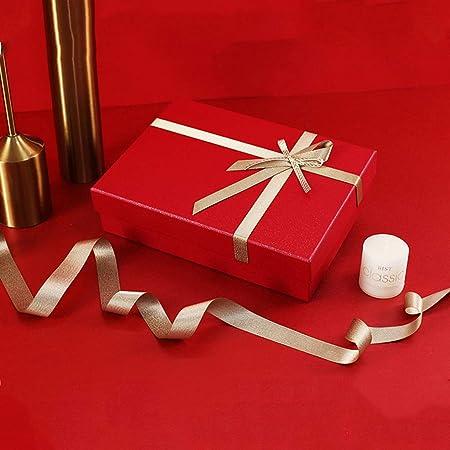 Z-Live - Caja de Regalo Premium, Caja Rectangular roja, Caja ...