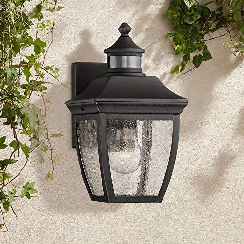 Beaufort Outdoor Wall Light Fixture Black 12