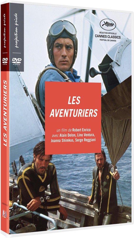 Les Aventuriers [Italia] [DVD]