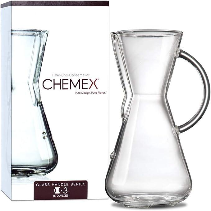 Chemex - Cafetera, 3-Cup: Amazon.es: Hogar