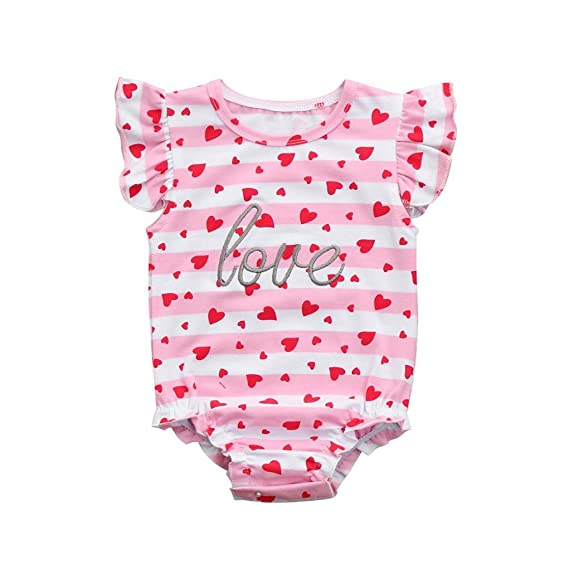 PAOLIAN Conjuntos Ropa para Niñas bebé recien nacido Verano Ropa arrastrada para bebé Monos Impresion de