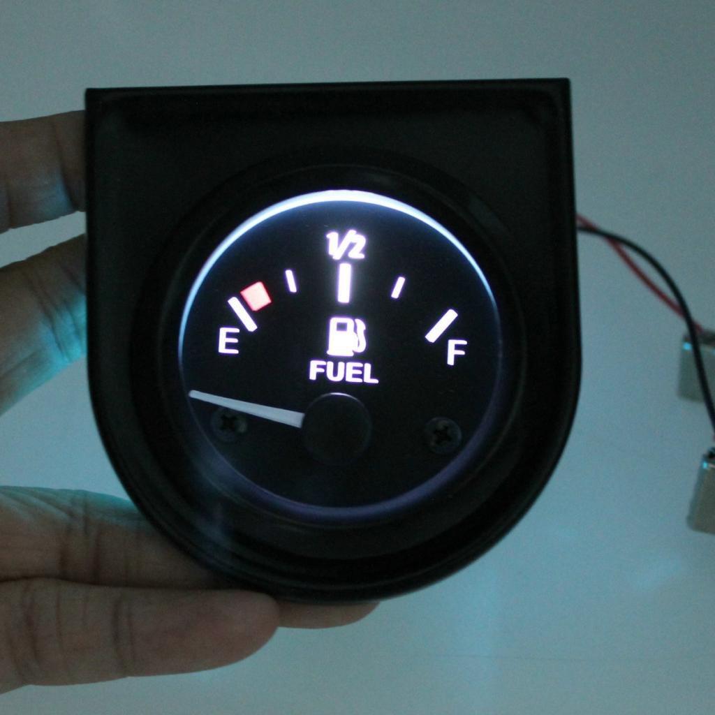 Sconosciuto 2 Auto Sensore Manometro Pressione Olio Indicatore Livello Misuratore Carburante Metro