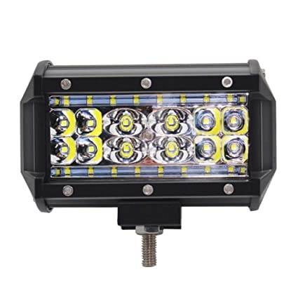 Focos LED Tractor Barra de luces LED 5Inch Luces de trabajo ...