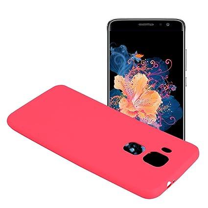 Yunbaozi Funda para Huawei Nova Plus, Protective Case Carcasa Caucho Funda para Protectora de Silicona Caramelo Ultra Suave Flexible Delgado Carcasa ...