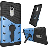 Dream2Cool Xiaomi Redmi Note 4 Back Cover Blue((Sniper 360° Rotate Stand Version 4.0 Ultimate Warrior Case/(Air Cushion Technology)