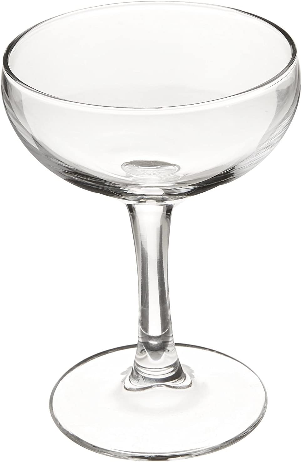 Luminarc Assorted Brew Bar Craft Coupe Martini Glass, Set of 4, Clear