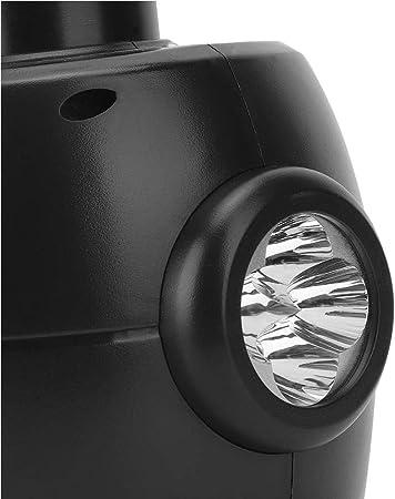 E-HEELP Elektro-Wagenheber 3T 12V Hebebereich 12-42cm Scherenwagenheber mit Aufbewahrungsbox f/ür SUV-Reifenwechsel