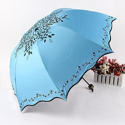 SHISHANG parapluie parapluie parapluie contre - ombre dame UV pliage sélection monochrome créatif